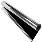Black 7mil Reflective Mylar Roll