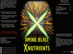X Nutrients Amino Blast Tag