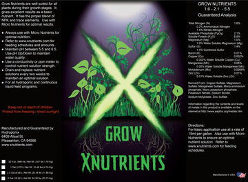 Grow Nutrients 1.6-2.1-5.5