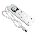 120V 8 Way Power Strip Mechanical Timer
