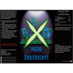 X Nutrients Micro Nutrients Label