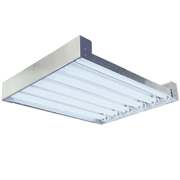 2 Foot T5 High Output Fluorescent Grow Light Fixture