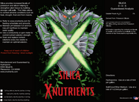 X Nutrients Silica Label