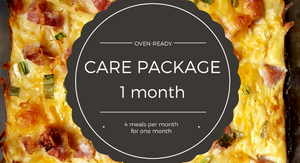 Care Package - 1 month plan