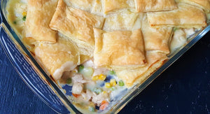 Chicken Puff Pastry Pot Pie
