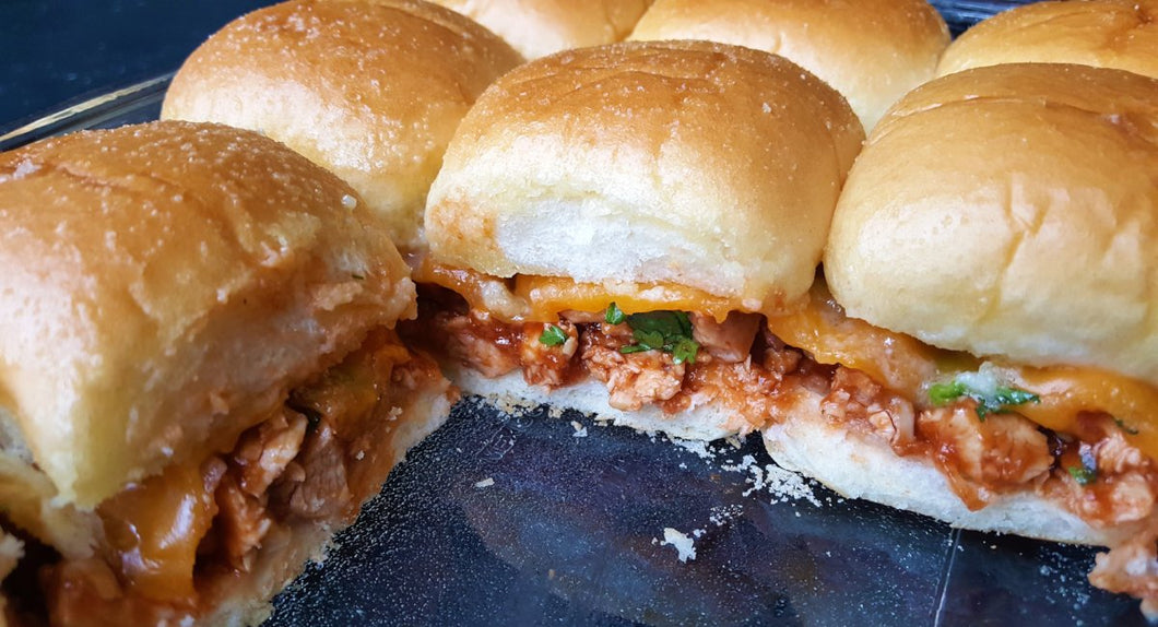 Honey BBQ Chicken Sliders