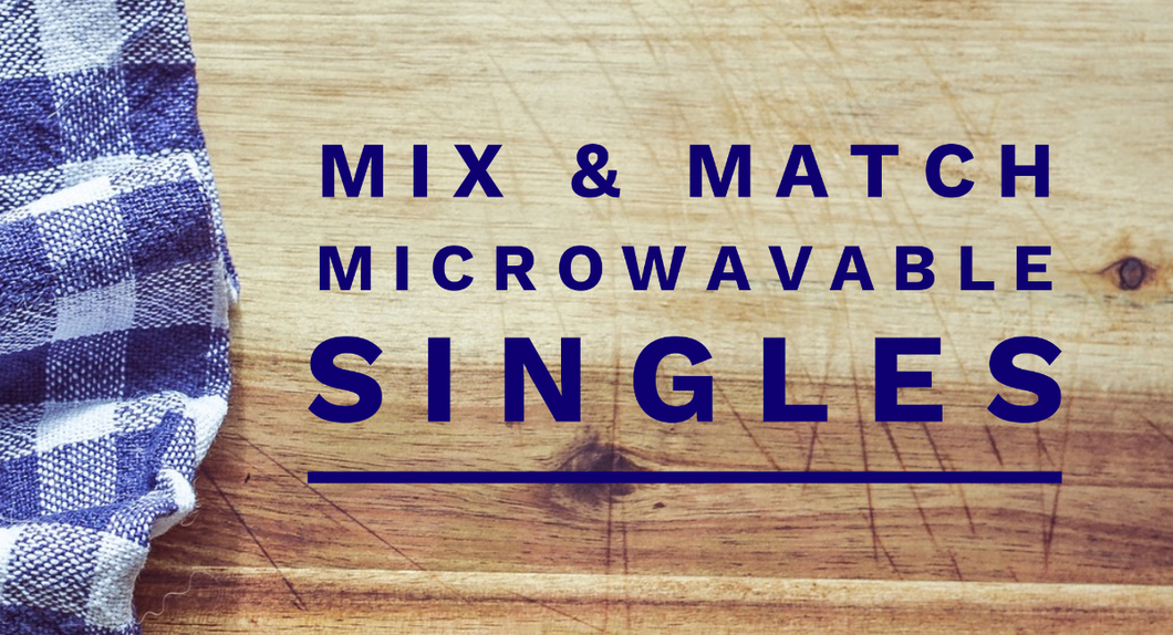 Mix & Match 4-pack microwave singles