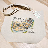 Carmel Valley Map Tote