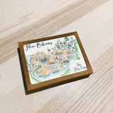 Georgia State Map Boxed Card Set