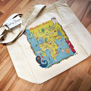 Mumbai City Map Tote