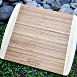 Rhode Island State Small Bamboo Cheese Board