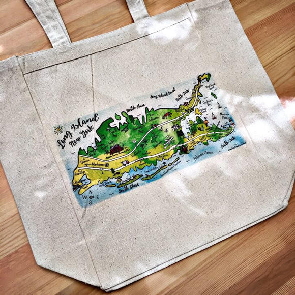 Long Island, New York Tote