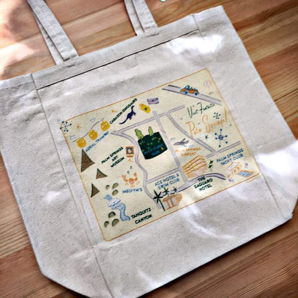 Palm Springs City Tote