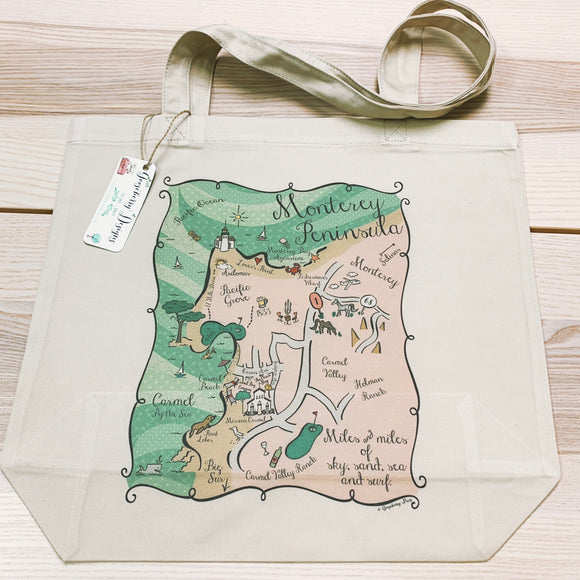 Monterey Peninsula City Tote