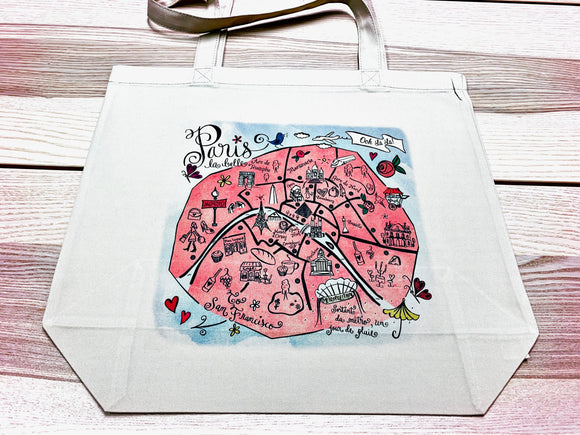 Paris City Tote