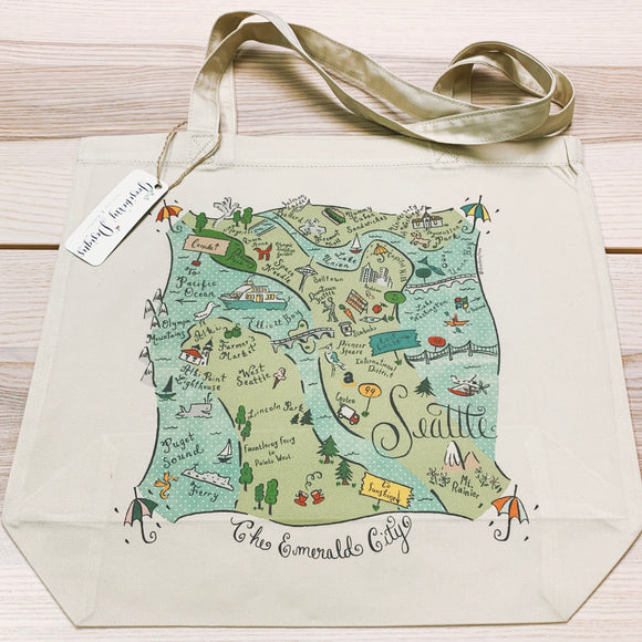 Seattle City Tote