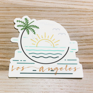 Los Angeles Vinyl Sticker