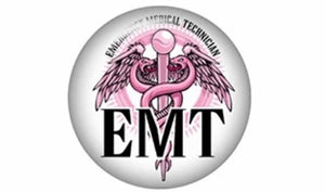 Pink EMT-12mm Glass Cabochon