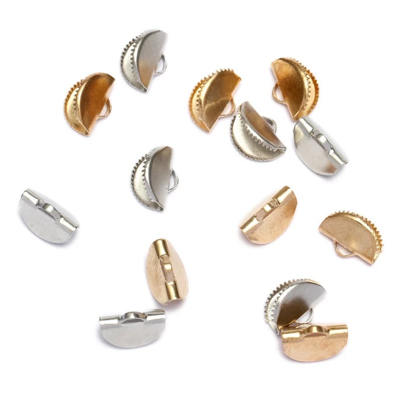 Shell Jewelry Clamp 10 x 13 mm