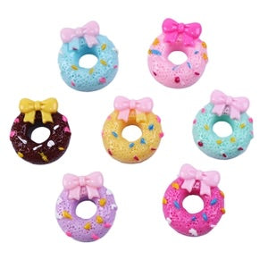 Donut Bow (multiple colors)  Resin