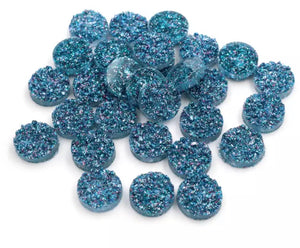 Blueberry Sparkle-10/12mm Druzy
