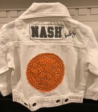 NASH Baby- White Denim Jacket- Nashville TriStar