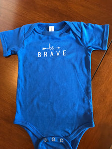 Personalized Baby Onesie- Be Brave