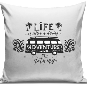 Adventure Or Nothing Cushion Cover