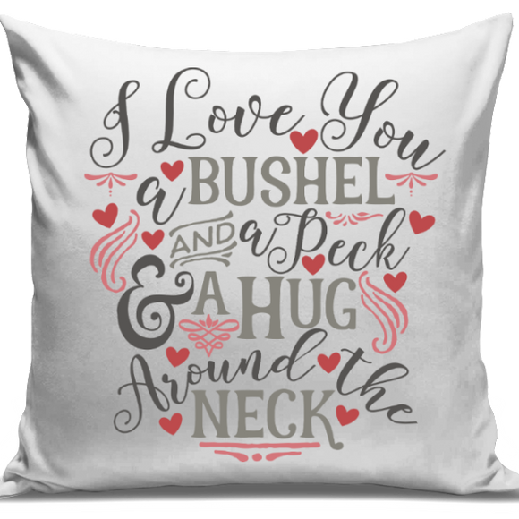 Bushel And A Peck Cushion Cover