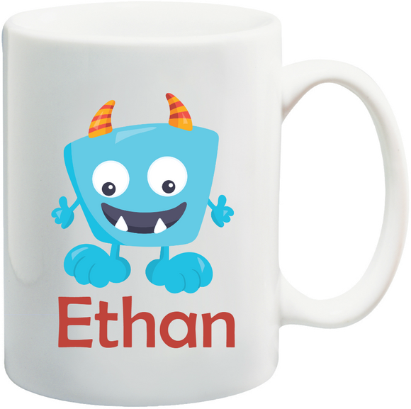 Monster Kids Mug Personalised