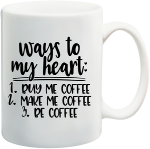 Ways To My Heart, Be Coffee Mug