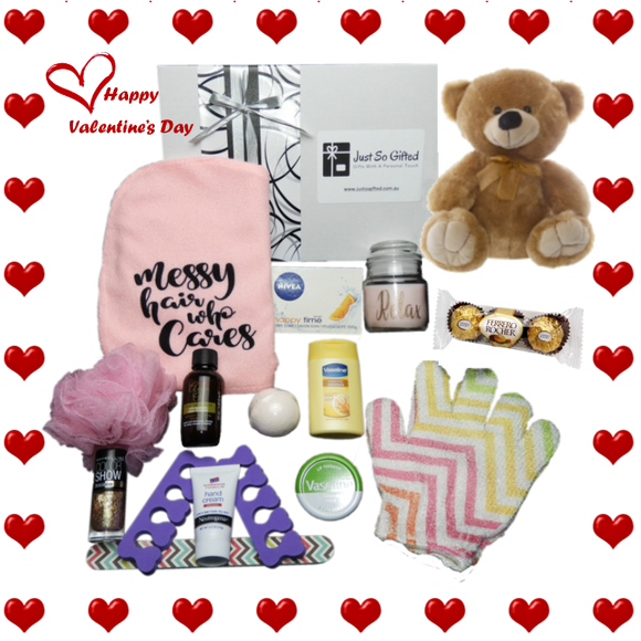 Valentines Day Pamper Pack - Free Postage