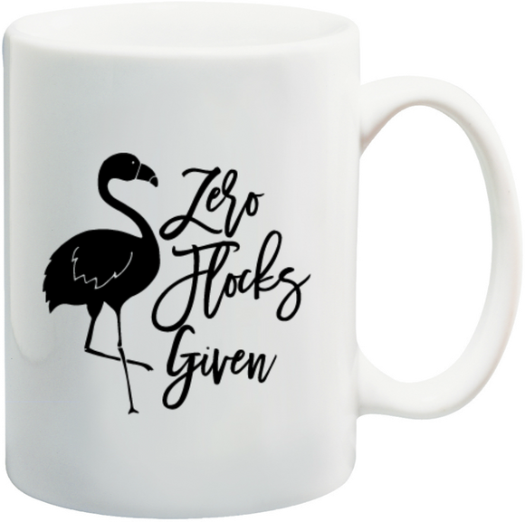 Zero Flocks Given Mug