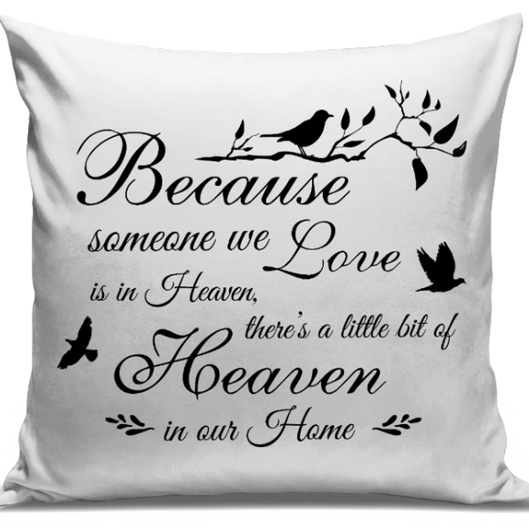Heaven In Our Home Cushion Cover