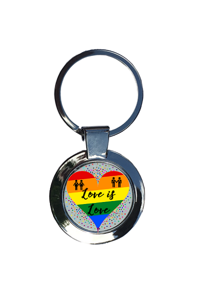 Love is Love Keyring