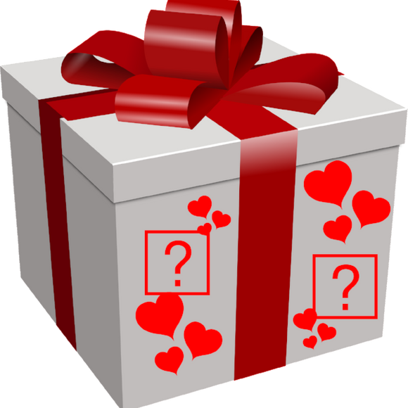 Valentine Themed Mystery Box - Free Postage