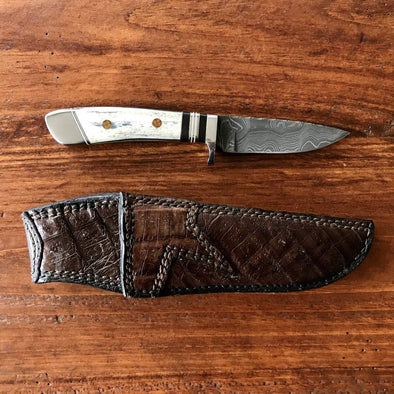 Custom Steve Nolte Damascus Knife