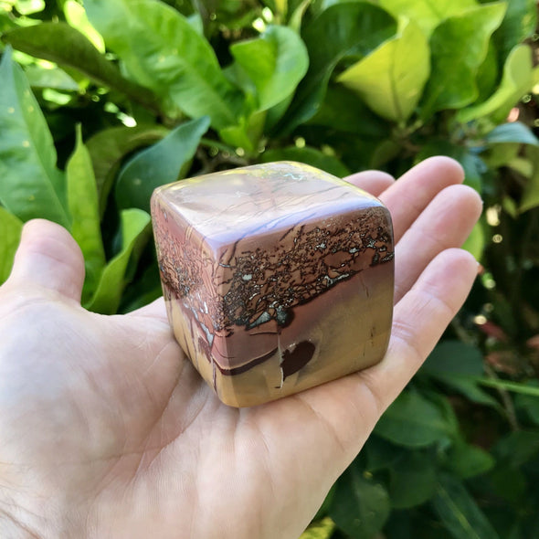 Atlas Mountain Jasper Cube