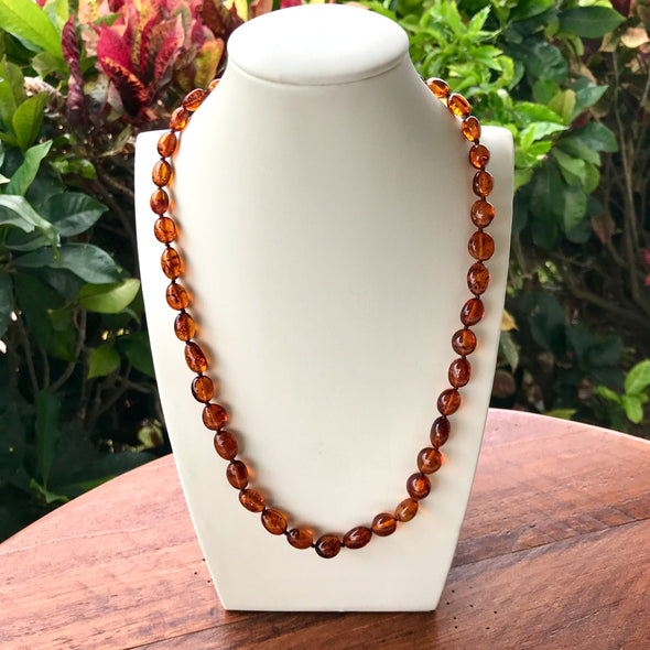 "22"" Baltic Amber Necklace"