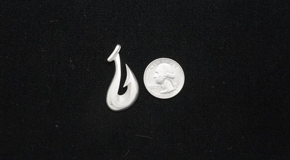 Sterling Silver Maui Hook Pendant