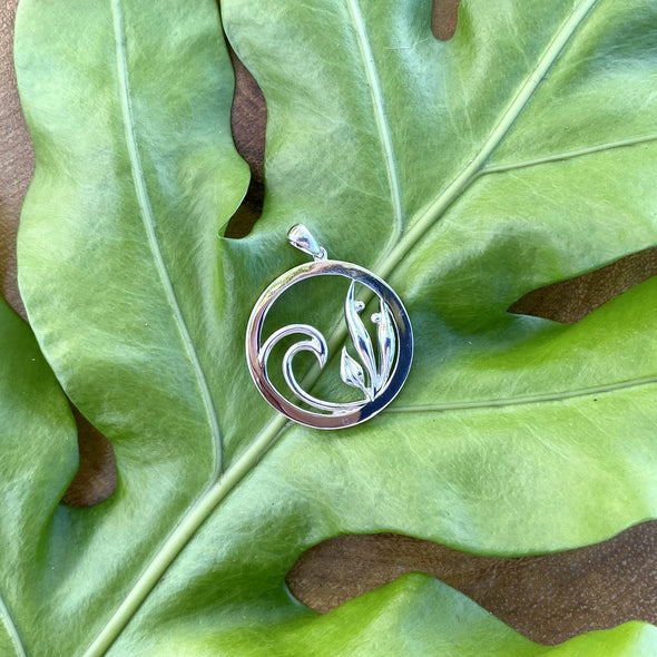 Harmony Pendant Sterling Silver - CCP-52
