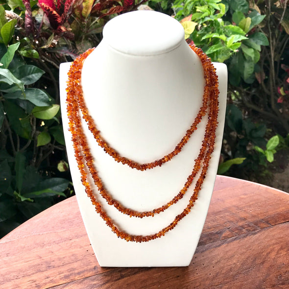 "58"" Baltic Amber Necklace- BANL05"