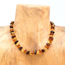"12"" Baltic Amber Baby Bead Necklace"
