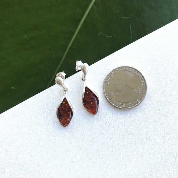 Baltic Amber Earrings- BAER09
