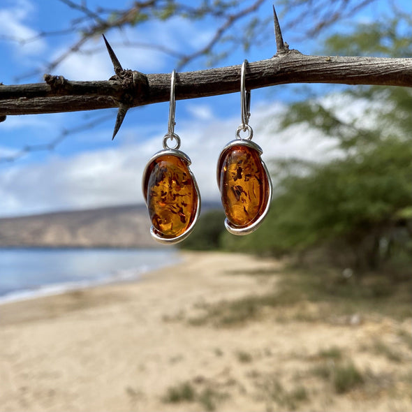 Baltic Amber Earrings- Style 1