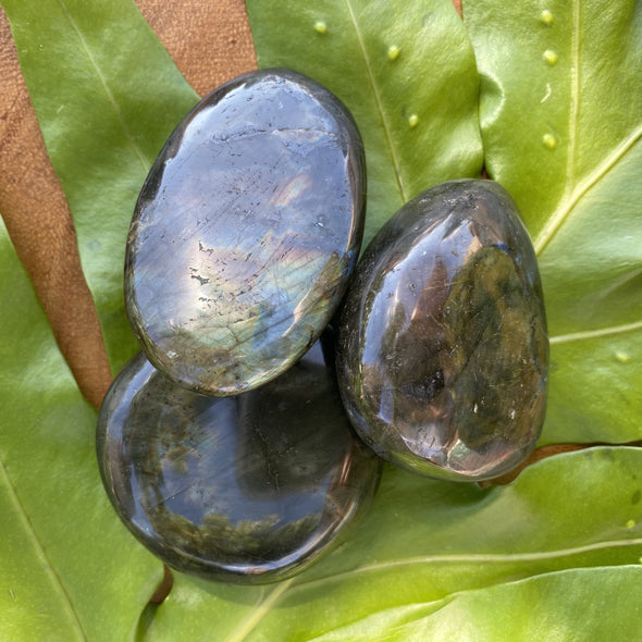 Polished Labradorite Pebbles