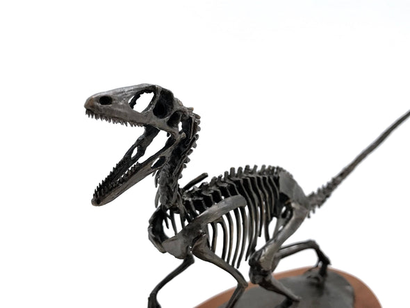 Bronze Deinonychus Sculpture by Nelson Maniscalco