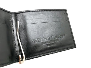 Stingray Leather Money Clip Wallet