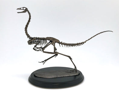 Bronze Gallimimus Sculpture