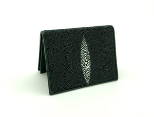 Stingray Leather Card Carrier